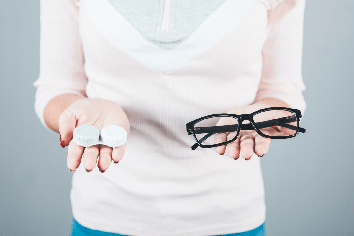 """Featured image for """"Glasses vs Contacts – one, other, or both?"""""""